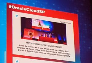 Social Corner Oracle Cloud Day