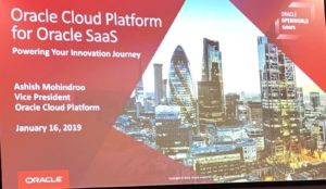 Oracle Open World Londres 2019